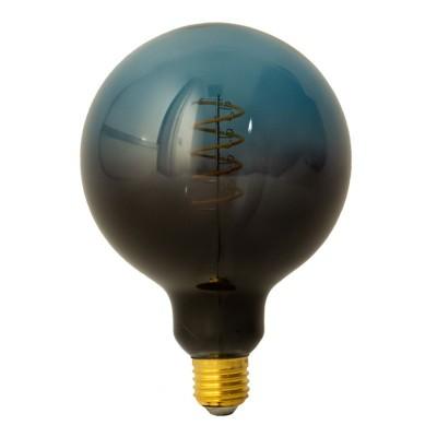 Ampoule LED Globo G125 série Pastel, couleur Crépuscule (Dusk), filament spirale 5W E27 Dimmable 2500K