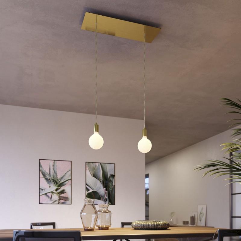 lampade a sospensione doppia con rose-one