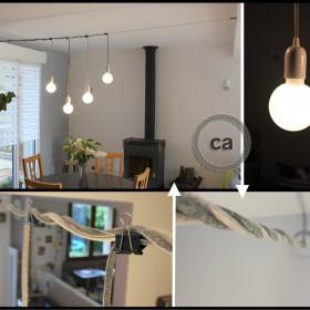 Amandine Hubert: Installation im Esszimmer